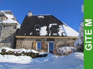 Gîte M sous la neige