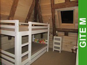 Chambre des enfants Gîte M Le Puech (Le Peuch)