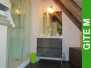 Salle d'eau Gîte M Le Puech (Le Peuch)